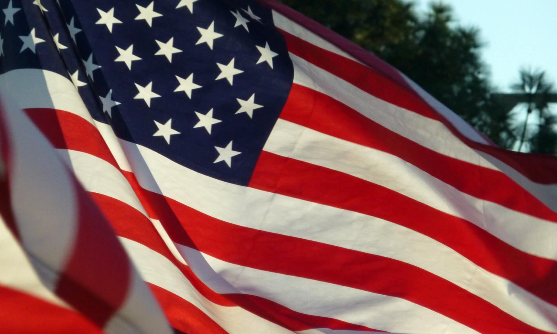 American flag unfurled. Public Domain: https://www.publicdomainpictures.net/en/view-image.php?image=116562&picture=american-flag-unfurled